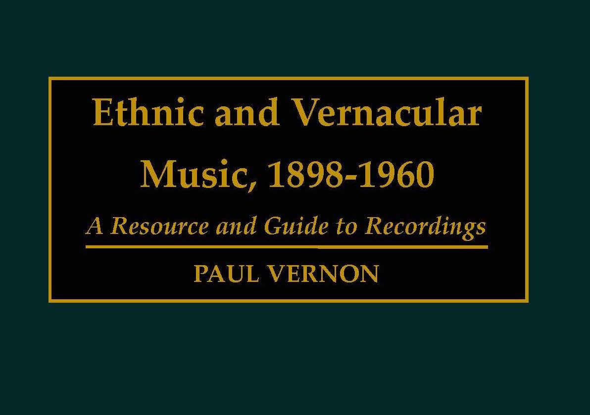 Ethnic and Vernacular Music